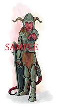 Tiefling - Armor: Stock Art