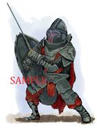 Dwarf - Fighter: Stock Art