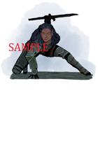 Elf - Female - Fighter: Stock Art