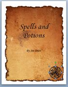 Fantasy Spells and Potions - Pages From A Wizard's Book