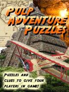 Pulp Adventure RPG Campaign Puzzles