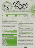 Bards and ballads (english edition)