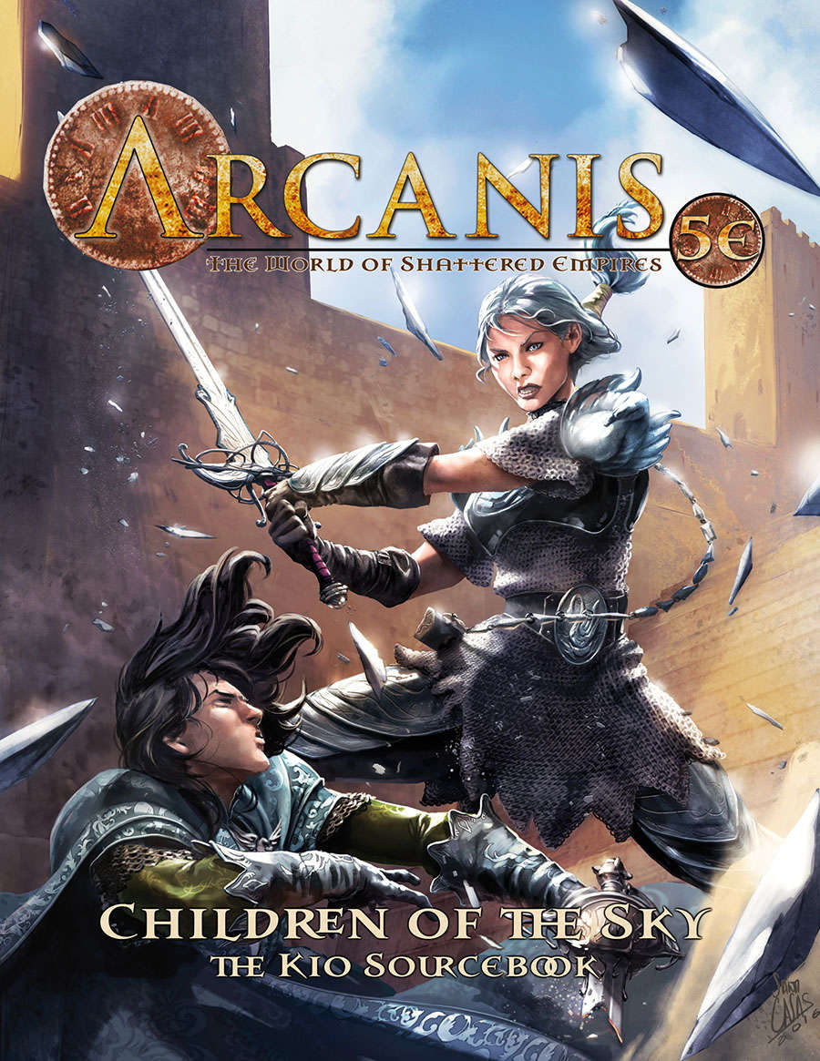 Arcanis 5E - Children of the Sky