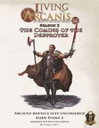 Living Arcanis 5E HP 2-3 Ancient Battles Left Unfinished