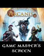 Arcanis 5E GM Screen