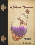 Wondrous Treasures - Potions