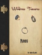 Wondrous Treasure - Rings