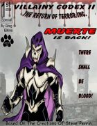 Villainy Codex II - Return of Terror Inc.