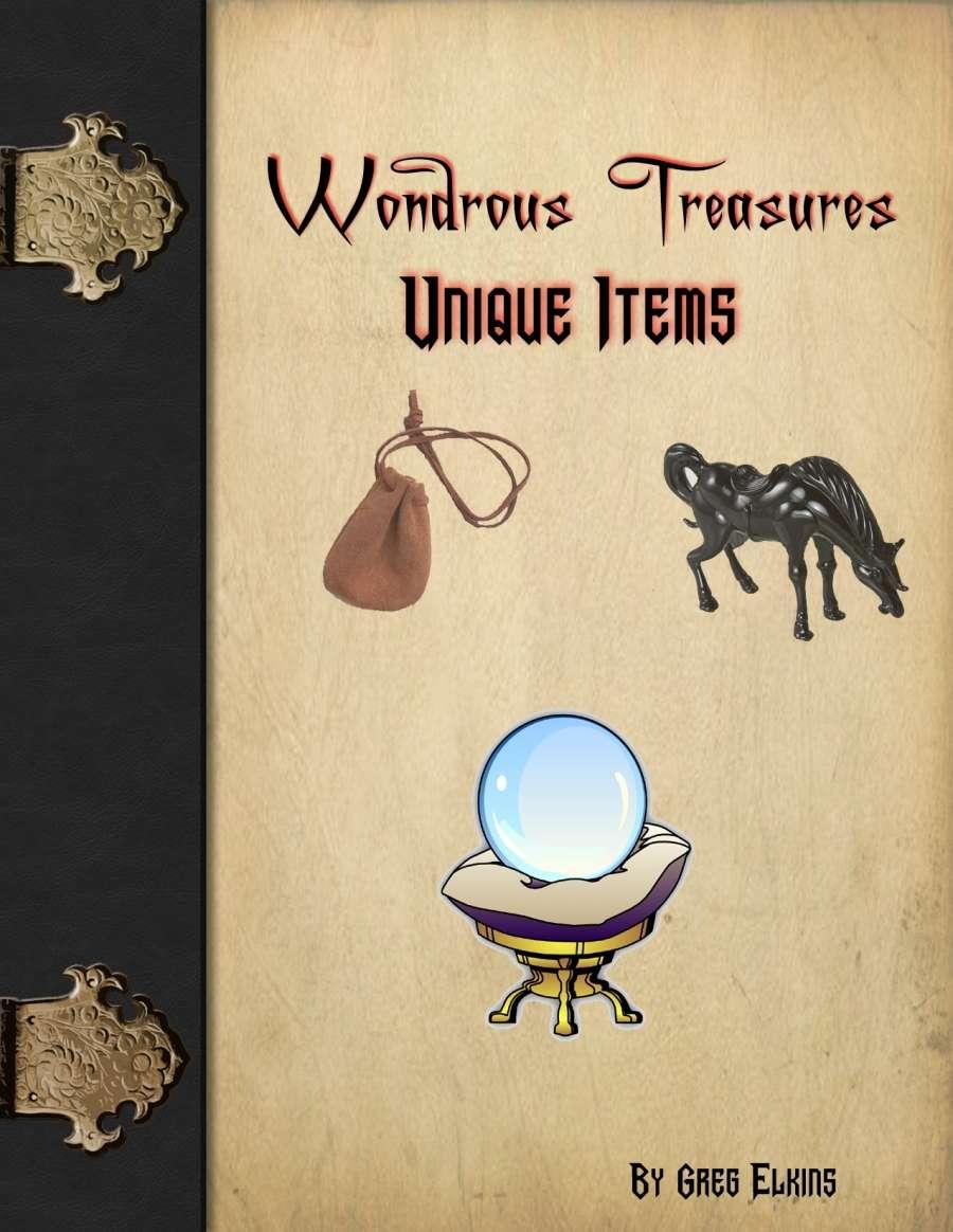 Wondrous Treasures - Unique Items - Tiger Paw Press ... - photo#3