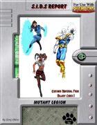 S.I.D.s Report - Mutant Legion
