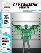 S.I.D.s Bulletin 1 - Gremlin