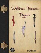 Wondrous Treasures - Daggers