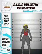 S.I.D.s Bulletin 4 - Black Spyder