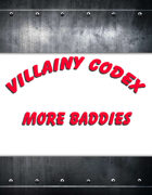 Villainy Codex Bundle PD F& HD Files [BUNDLE]