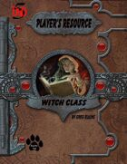 Player's Resource - Witch Class