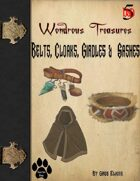 Wondrous Treasure #3 - Belts, Cloaks, Girdles & Sashes