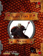 Villainy Codex IV - Arcana W/Hero Designer Files