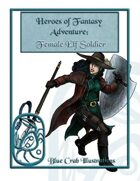 Heroes of Fantasy Adventure: Female Elf Soldier