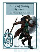 Heroes of Fantasy Adventure: Female Elf Soldier
