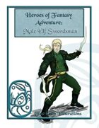 Heroes of Fantasy Adventure: Male Elf Swordsman