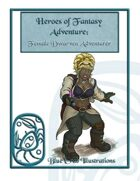 Heroes of Fantasy Adventure: Female Dwarven Adventurer