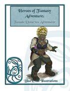 Heroes of Fantasy Adventure: Female Dwarven Adventurer
