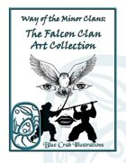 Way of the Minor Clan: Falcon Clan Art Collection