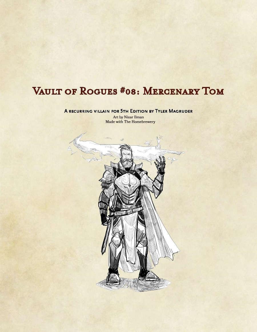(5e) Mercenary Tom: Vault of Rogues #08