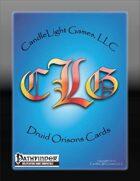Druid Orisons Cards