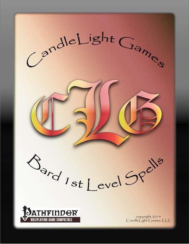 Bard 1st Level Arcane Cards