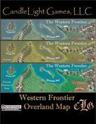Map- Western Frontier