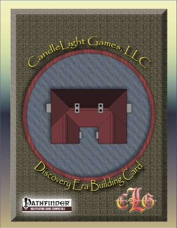 Illustrated Discovery Era Building Cards