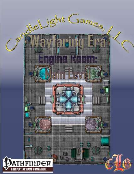 Map- Engine Room: Main Level