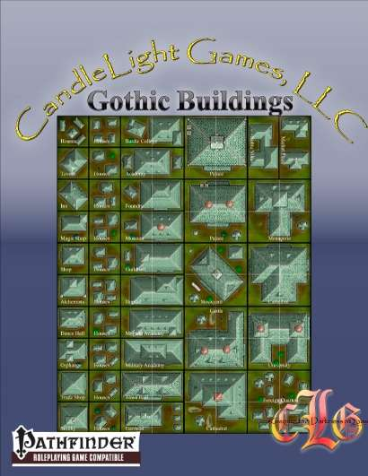 Gothic Buildings (Kingdom Builder)
