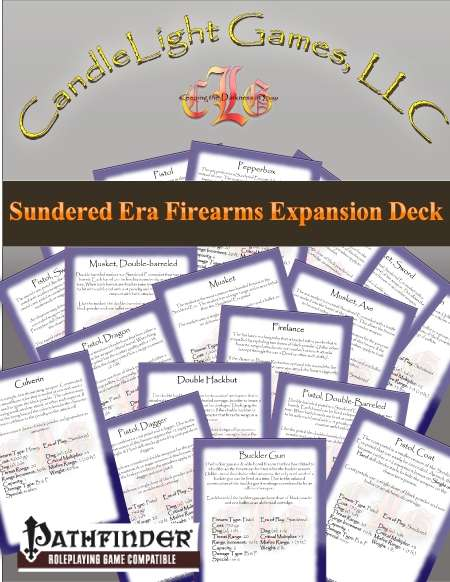 Sundered Era Firearms Expansion Deck