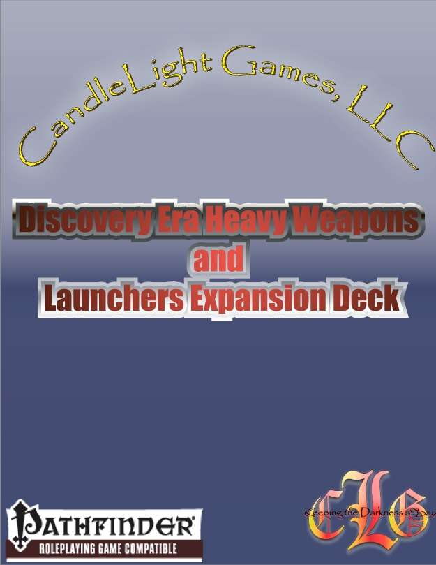 Discovery Era Heavy Weapons and Launchers Expansion Deck