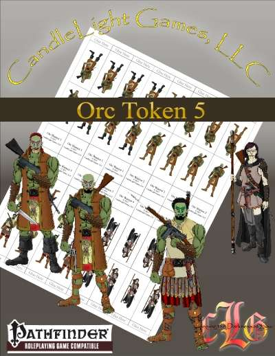 Discovery Era Tokens: Orcs 5