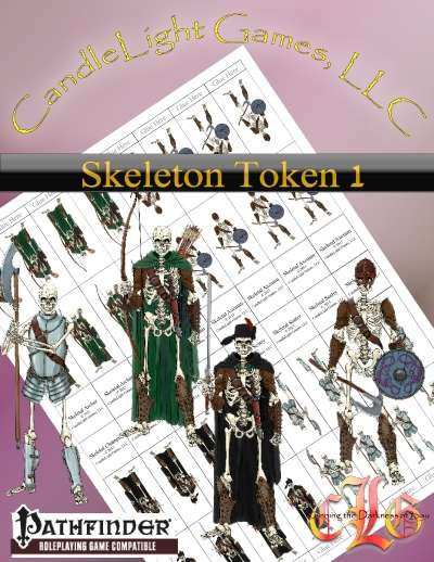Sundered Era Token: Skeleton Tokens 1