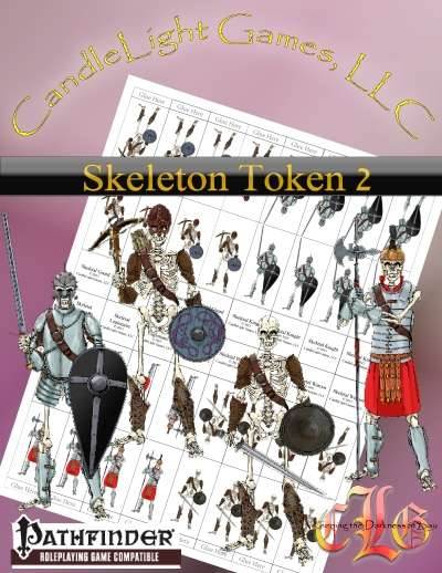 Sundered Era Token: Skeleton Tokens 2
