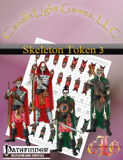 Sundered Era Token: Skeleton Tokens 3