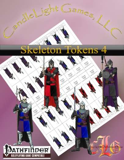 Sundered Era Token: Skeleton Tokens 4