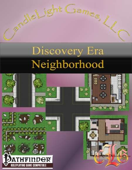 Discovery Era Neighborhood Tiles #1 (VTT)