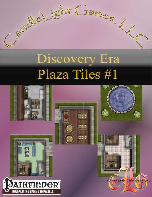 Discovery Era Town Center/Plaza Tiles (VTT)