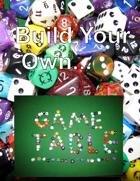Folding Game Table Plans PLUS