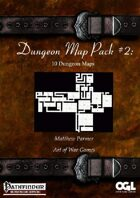 Dungeon Map Pack #2: 10 Dungeon Maps