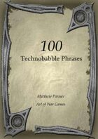 100 Technobabble Phrases