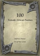 100 Female African Names