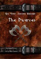 Get Some! Fantasy Warfare: Dwarf Army List