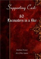 Supporting Cast: 80 Encounters in a Bar