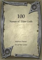 100 Names of Elder Gods